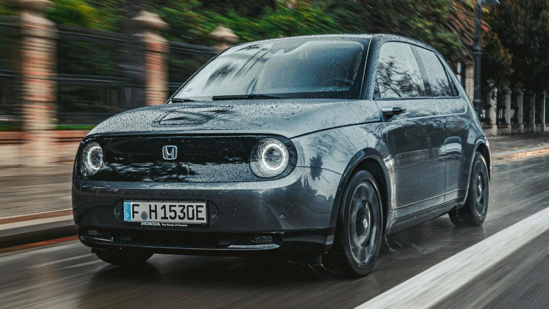 Honda-e sur route
